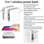 4 in 1 wireless power bank