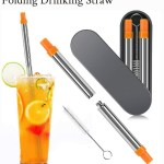 folding straw
