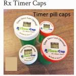 timer pill caps