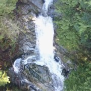 dji mavic pro high waterfall