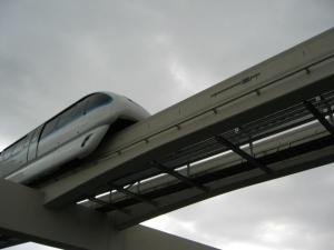 Monorail train, Las Vegas, Nevada