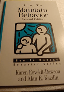 Book - How to Maintain Behavior