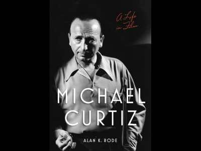 Photo of Michael Curtiz on cover of biography, Michael Curtiz: A Life In Film