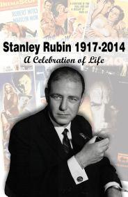 Stanley Rubin Memorial Poster