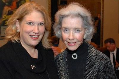Andrea Kasin and Marsha Hunt