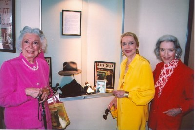 Ann Rutherford, Anne Jeffreys, and Marsha Hunt