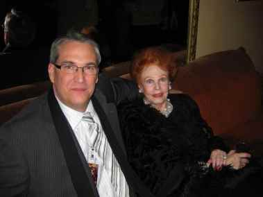 photo of Arlene Dahl and Alan K. Rode