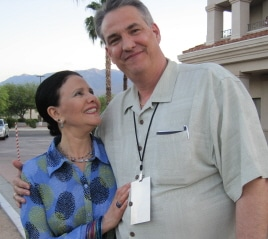 Julie Garfield with Alan K. Rode