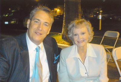June Lockhart and Alan K. Rode