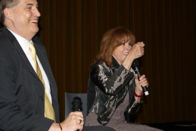 Alan K. Rode On Stage with Stefanie Powers