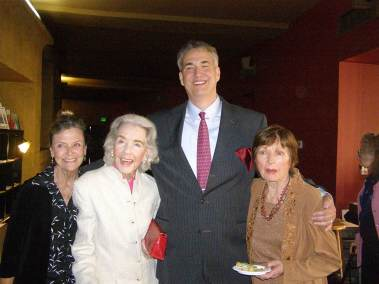 photo of Patty McCormack, Marsha Hunt, Alan K. Rode, and Coleen Gray