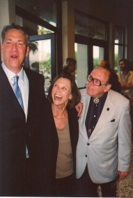 Alan K. Rode, Patty McCormack, and Marvin Page