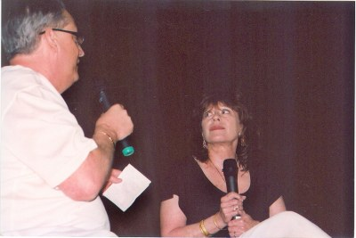 Sherry Jackson with Alan K. Rode On Stage