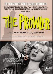 DVD cover poster art for film noir classic The Prowler