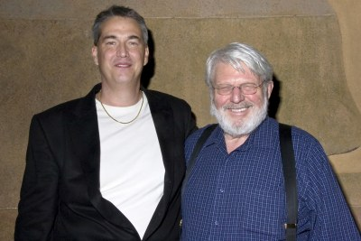 photo of Theodore Bikel with Alan K. Rode