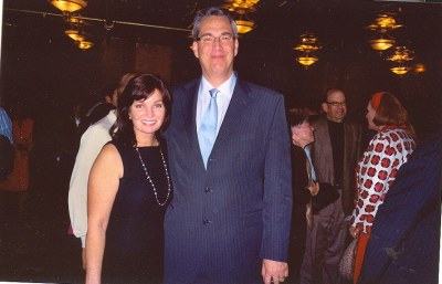photo of Ann McNulty with Alan K. Rode