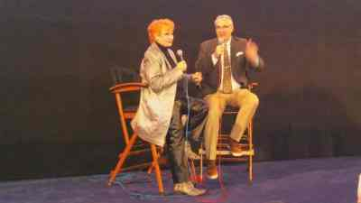 Ann Robinson Interviewed by Alan K. Rode at Noir City Hollywood 2018