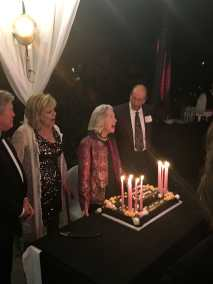 Marsha Hunt 100th Birthday Celebration