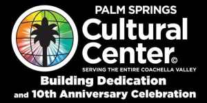 illustrated logo of Palm Springs Cultural Center