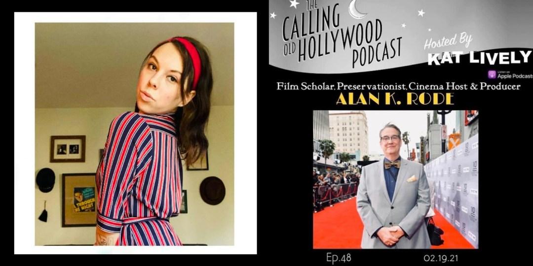 Kat Lively juxtaposed with Alan K. Rode