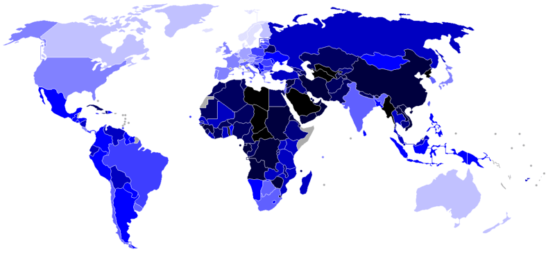 Democracy Index - Economist EIU