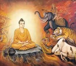 Animals with the Buddha