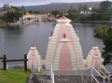 The wedding cake temples of Grand Bassin