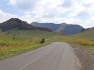Good road, fantastic scenery