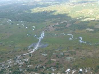 Crossing back into Zambia