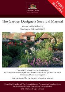 Garden Designers Survival Manual Page 1