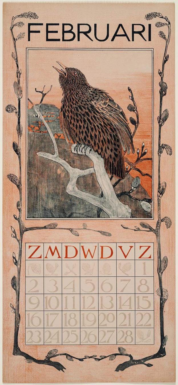 February 1902 calendar