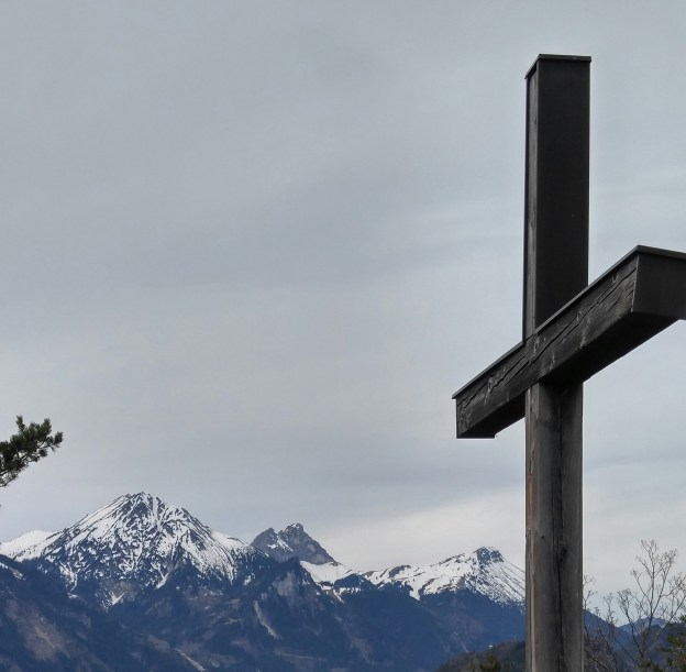 The cross of Christ in Füssen