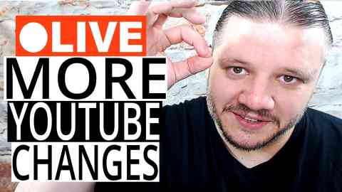 MORE YOUTUBE CHANGES - NEWS FROM YOUTUBE CEO Susan Wojcicki [REACTION - CHAT & Q&A]