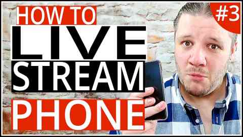 How To Live Stream On YouTube with A Phone - Step-By-Step Tutorial