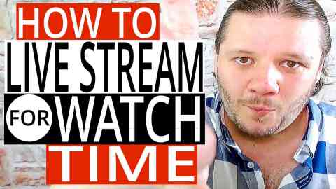 How To Use Livestreaming To Increase Channel Watch Time,How To live stream,how to use livestream on youtube,how to use livestream,live stream for watch time,how to increase channel watch time,increase channel watch time,youtube watch time,increase youtube watch time,youtube watch hours,how to increase watch time on youtube,youtube,livestream for watch time,live stream watch time,how to increase watch time on youtube 2018,how to increase watch time on youtube videos