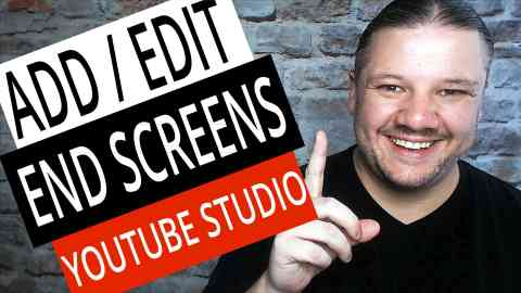 How To Add Edit End Screens with NEW YouTube Studio in 2019, alan spicer,how to make a youtube end card,how to make youtube end screen for your videos,end screen,end card,youtube endscreen,youtube end card,youtube end screen,new end card,youtube end screens,end card tutorial,end card editor,add end cards,edit end cards,add end screens,edit end screens,add end screen youtube studio,edit end screen youtube studio,youtube studio end screen,youtube studio end card,how to add end screen on youtube studio,alanspicer