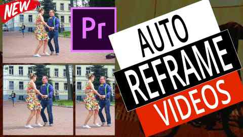 How To Auto Reframe Video in Adobe Premiere Pro 2020 - NEW Video Resizing Feature (Step by Step) 1