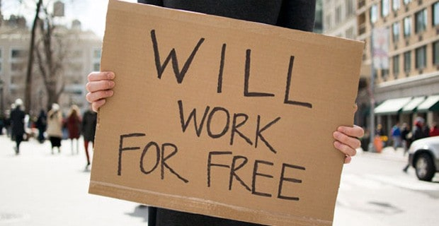 Why Working For Free Can Build Your Brand