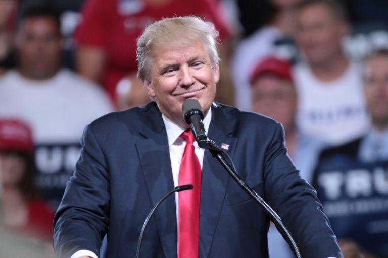 Smug Trump
