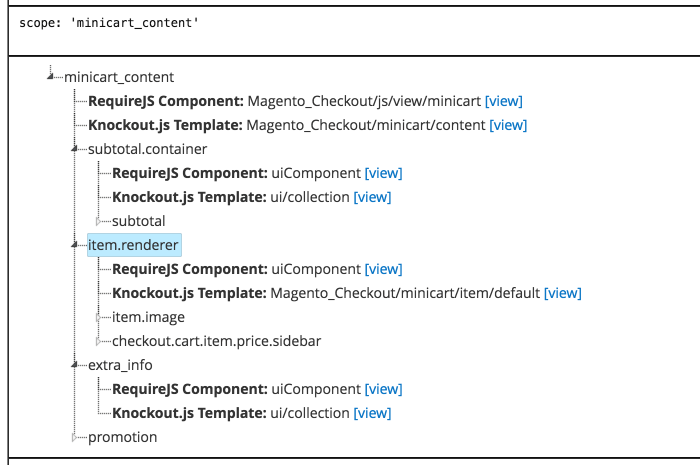 image of UI Component debugger