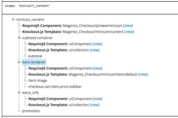 image of UI Component debugger
