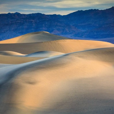Sand Dunes Color I – Death Valley, CA