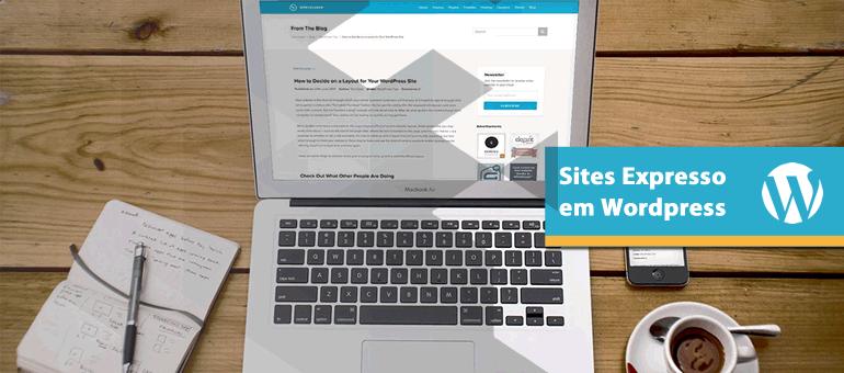 Site Expresso em Wordpress
