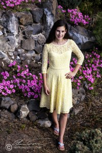 Just can't get enough of this yellow dress. Lovely in our pocket garden.