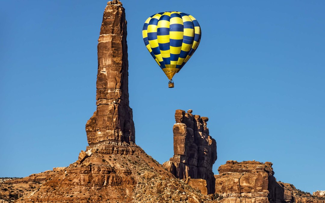 Balloon Festival in Bluff, Utah