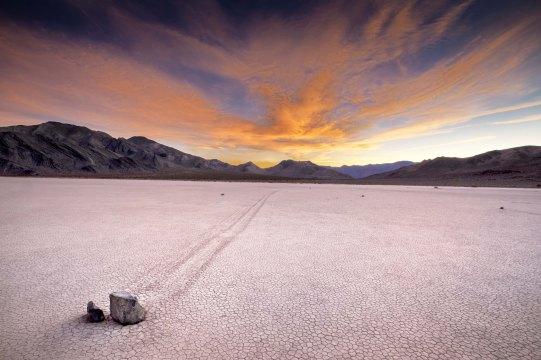 The Racetrack Playa, Death Valley