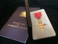The medal and the programme