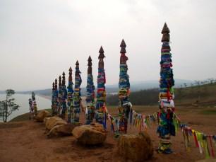 Shaman poles
