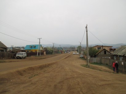 Main street, Khuzhir