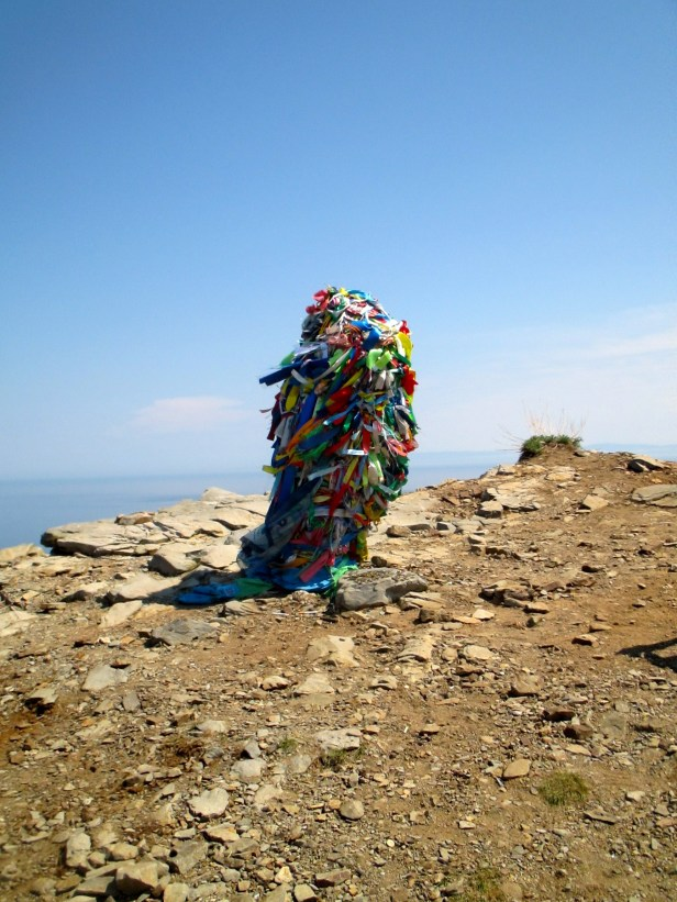 Shamanist monument, Cape Khoboy